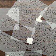 Quilt Stencils (quilt patronen)