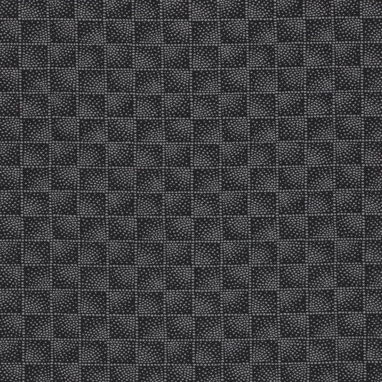Stof a/s Quilters Coordinates zwart vierkantje