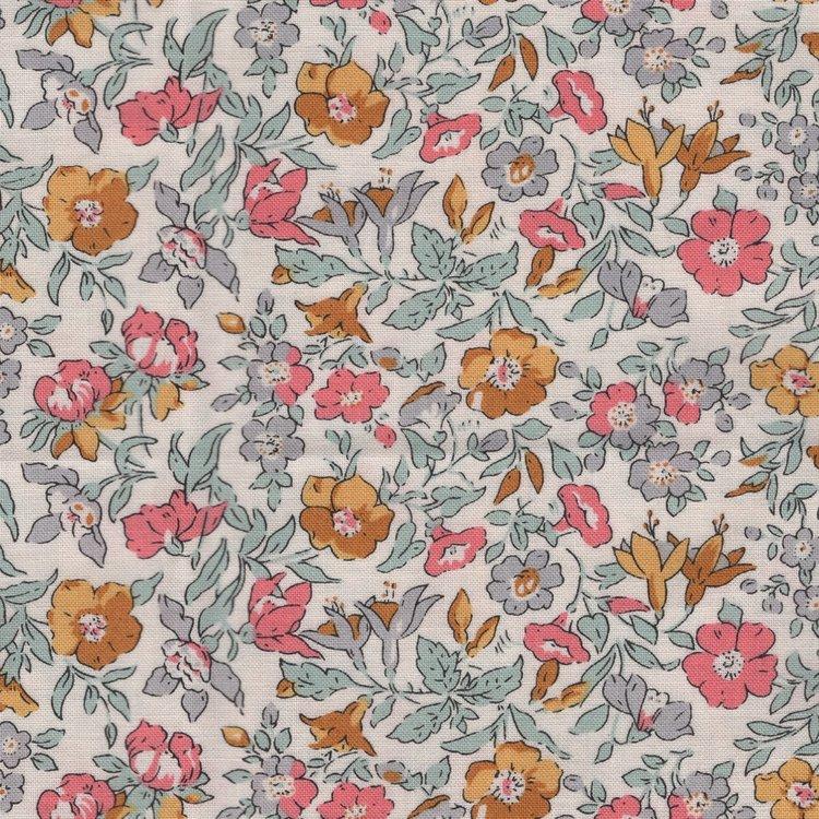 Liberty London English Garden Lasenby ecru bloem