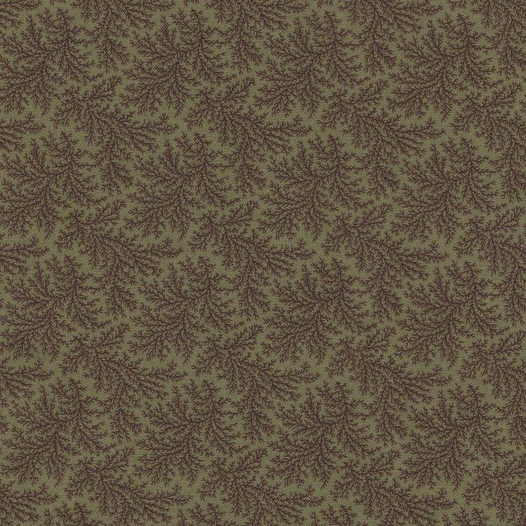 Marcus Fabrics Chatham Row groen takje