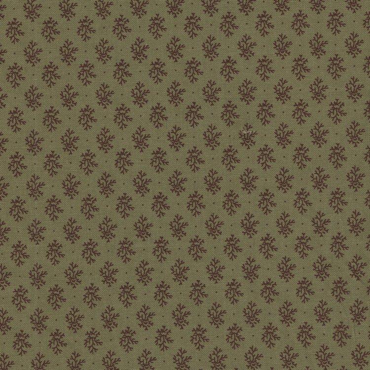 Marcus Fabrics Chatham Row groen werkje