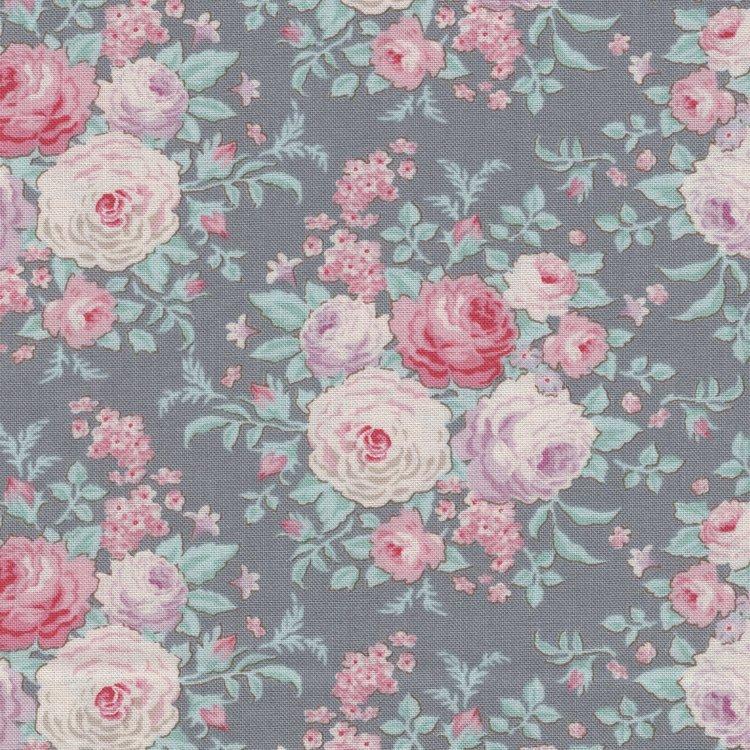 Tilda Old Rose grijs roos