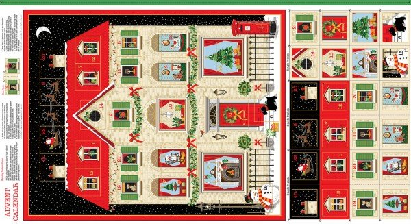 Andover House Advent Kalender Paneel