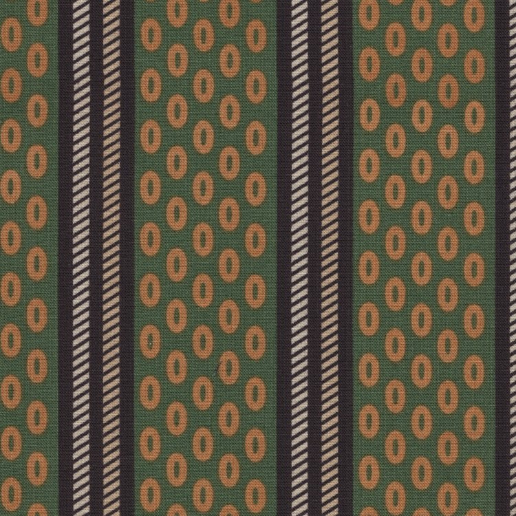 Andover Chesapeake groen Oval Stripe
