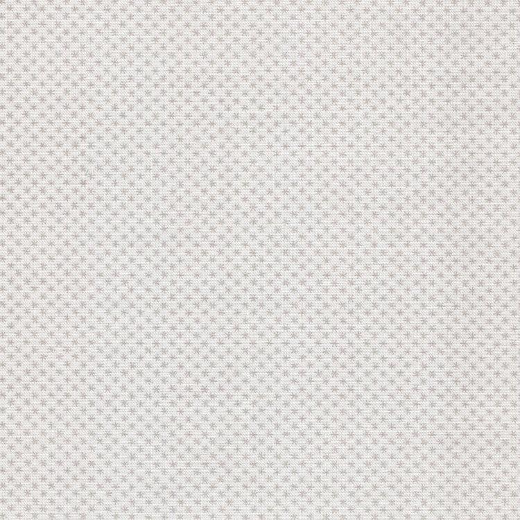Andover Cloud Whites wit grijs mini sterretje