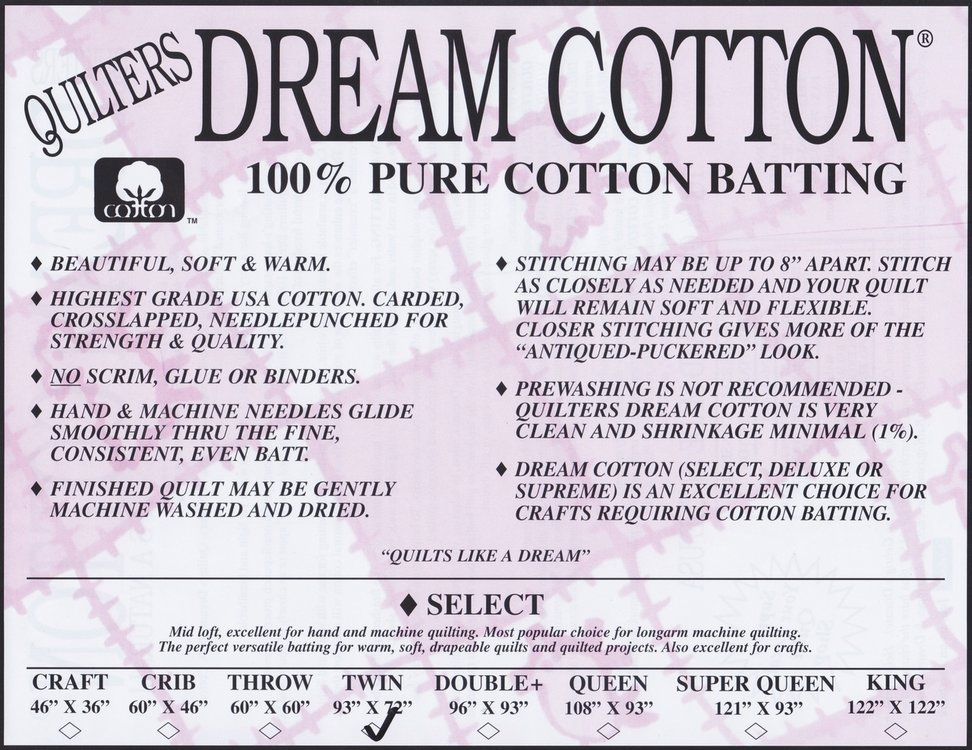 QD Cotton Select Rol