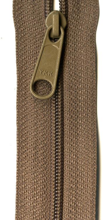 YKK rits 22 inch (55cm) taupe