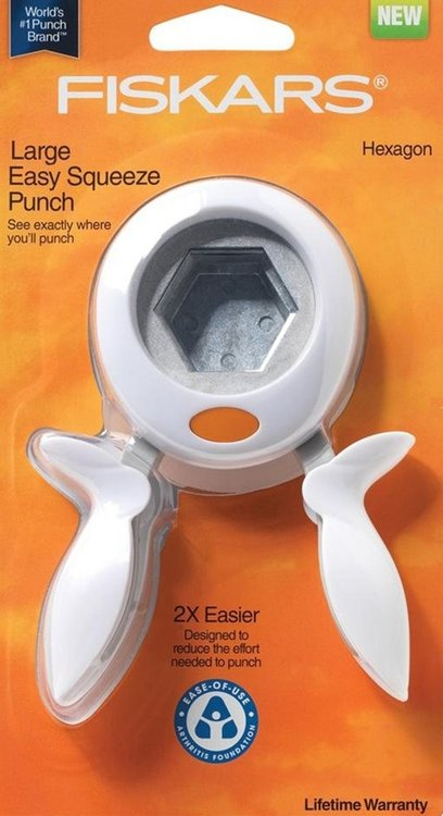 Fiskars hexagon punch (pons) Large (0,75 inch)
