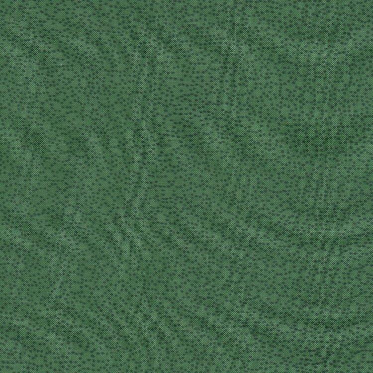 Stof a/s Quilters Basics Style groen met spikkeltje