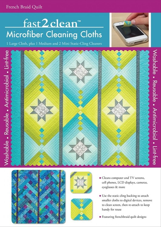 Fast2clean Microfiber schoonmaak set  Jane Hardy Miller