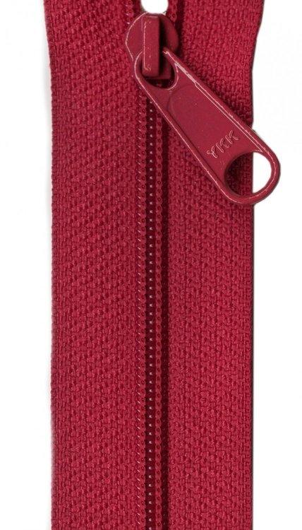 YKK rits 22 inch (55cm) garnet