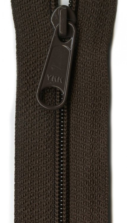 YKK rits 22 inch (55cm) sable