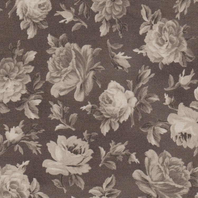 Windham Fabrics Shades of Grey taupe roos