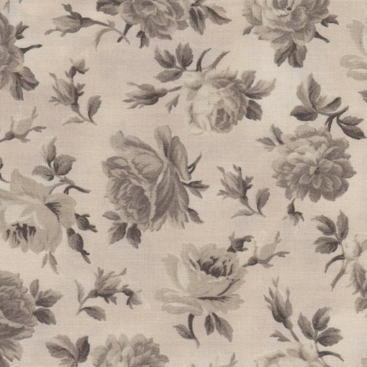 Windham Fabrics Shades of Grey taupe roos.
