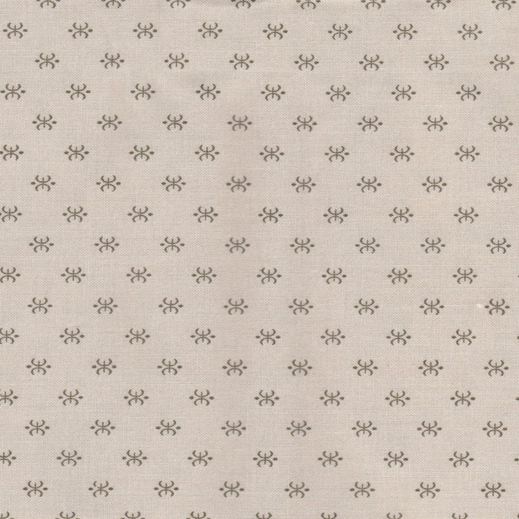 Windham Fabrics Shades of Grey vergrijsd ecru werkje