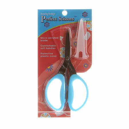 Perfect Scissors Medium, schaar 6 inch blauw