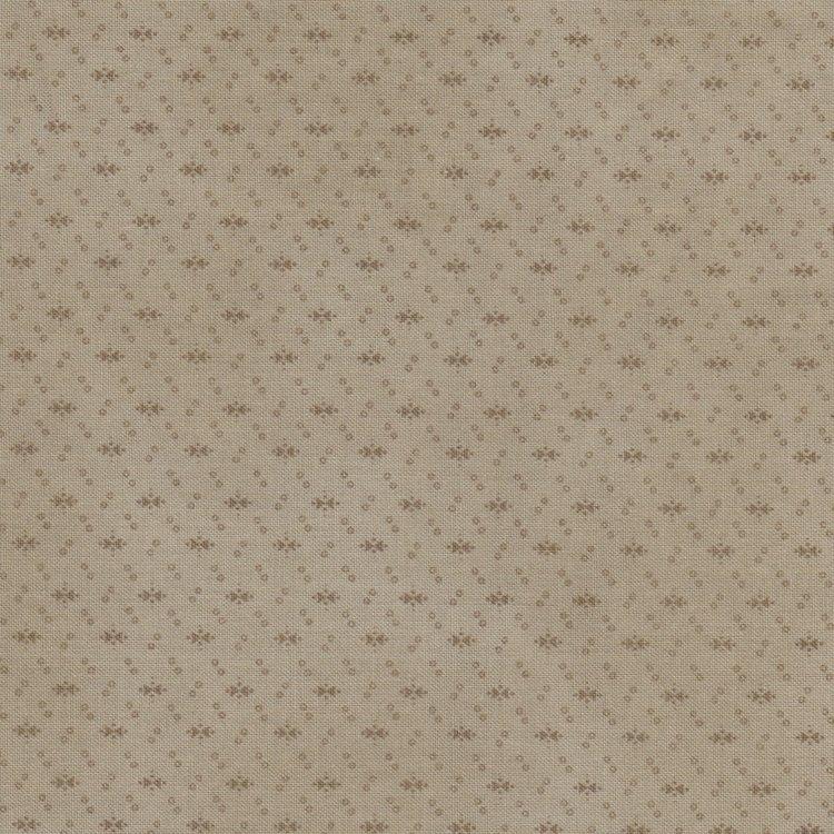 Windham Fabrics Manor House Upstairs taupe werkje