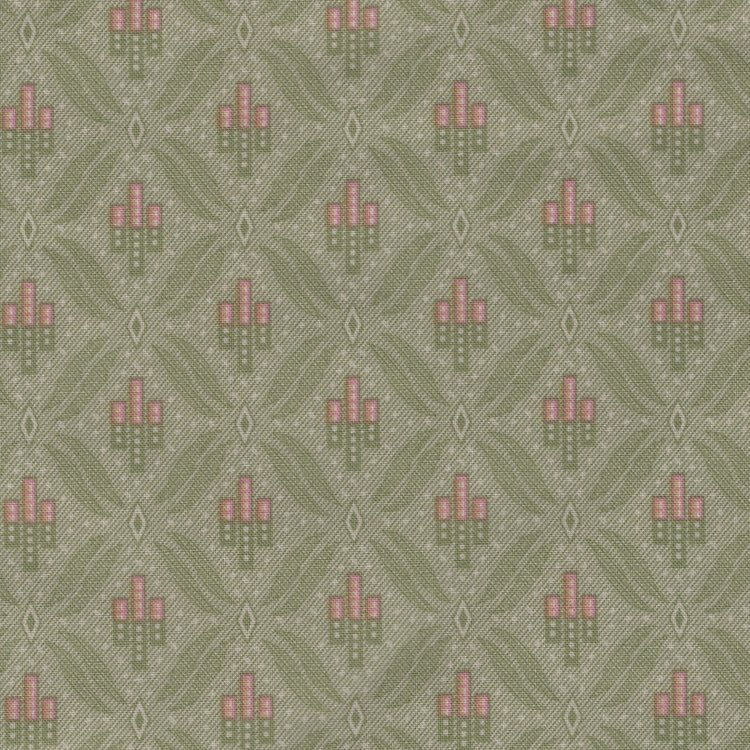 Penny Rose Fabrics Callington Mill groen werkje