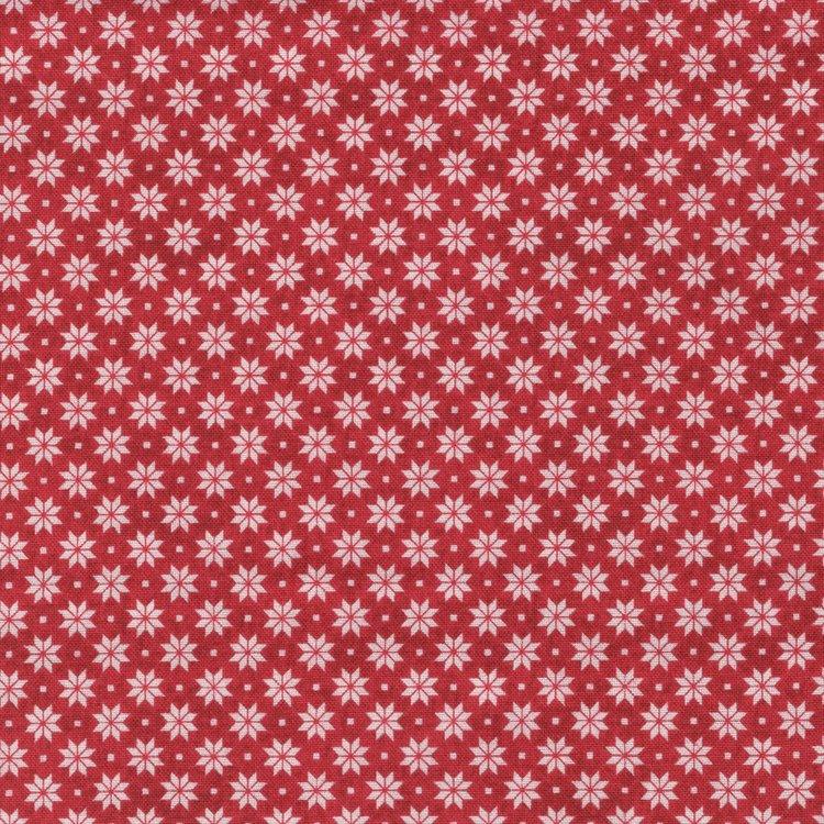 Andover Christmas 2017 Scandi 4 rood ecru ster