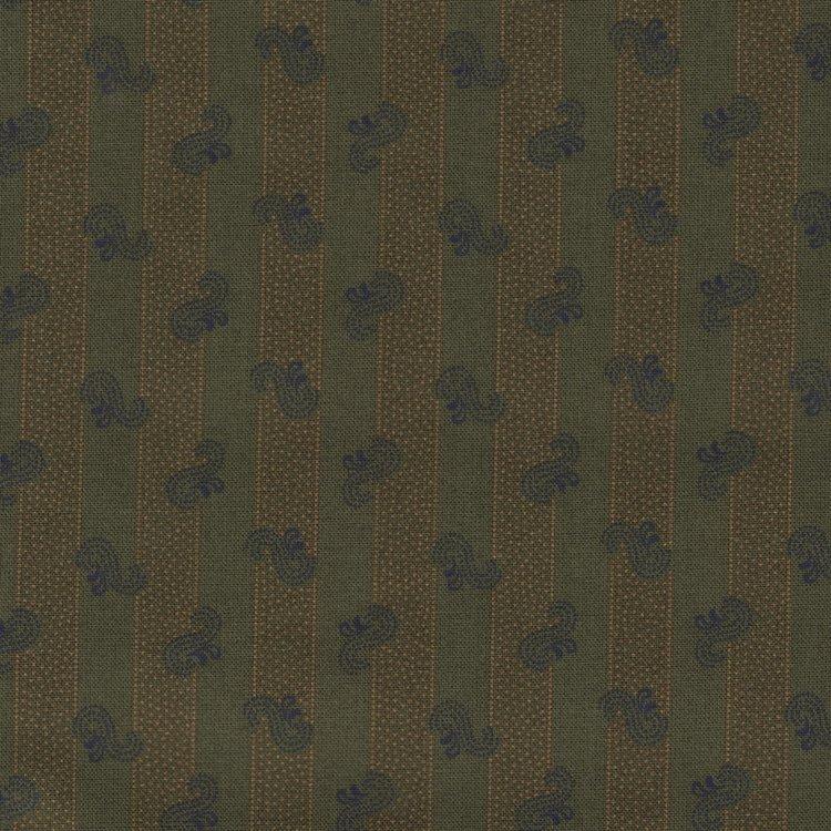 Windham Fabrics Kindred Spirits Sisters groen streepje