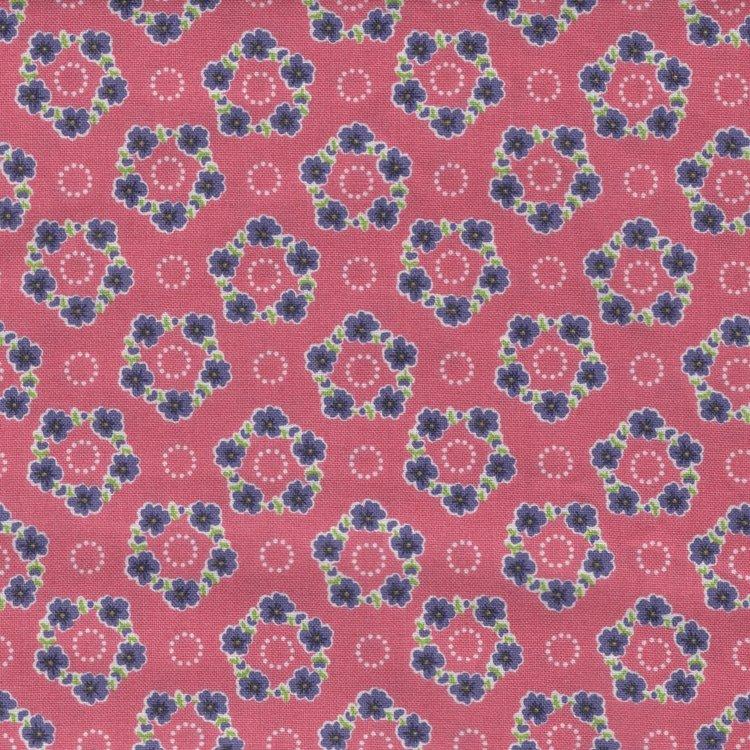 Andover Katie Jane roze met paars werkje