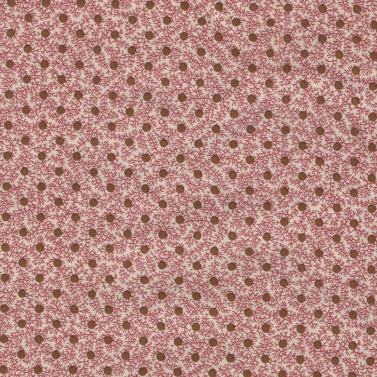 Marcus Fabrics Bathwick roze stip