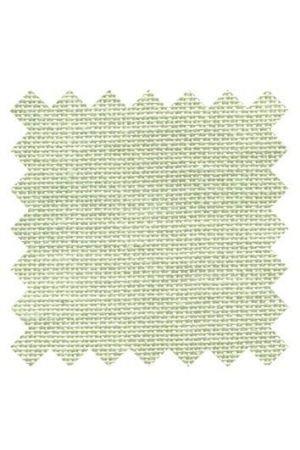 Sajou borduurlinnen licht groen