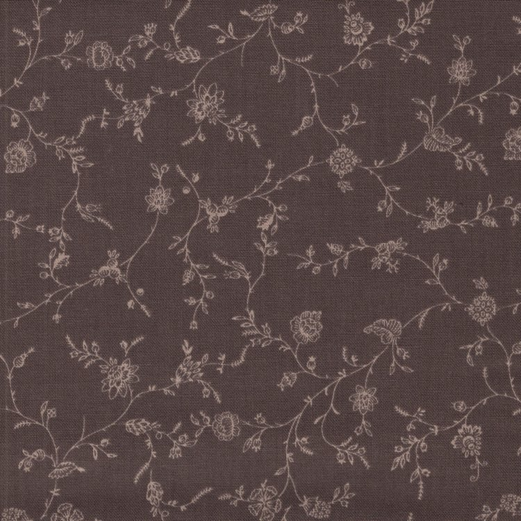 Penny Rose Fabrics English Rose bruin takje