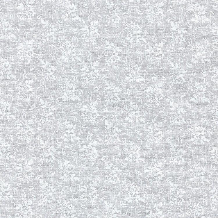 Basic collectie wit met wit takje