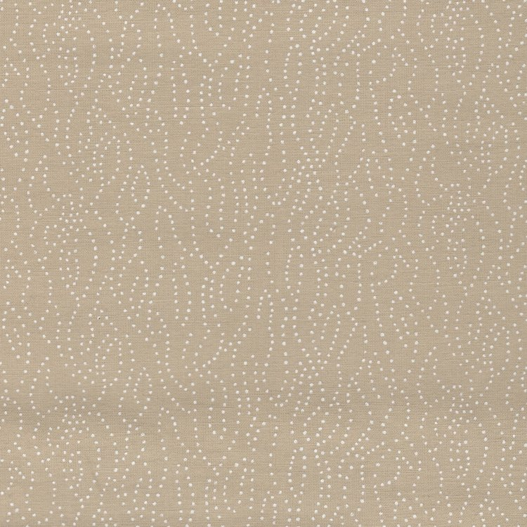 Basic collectie tan met wit stipje