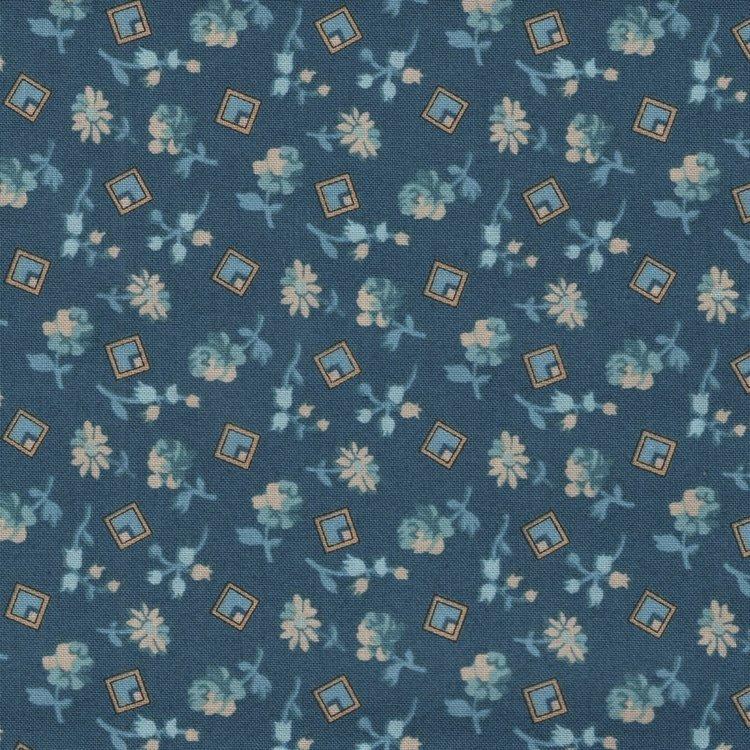 Andover Something Blue Edyta Sitar blauw bloemetje