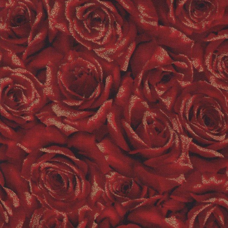Hoffman California kerst rood roos