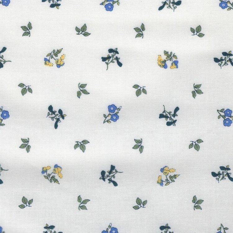 Liberty London The Orchard Garden wit blauw bloemetje
