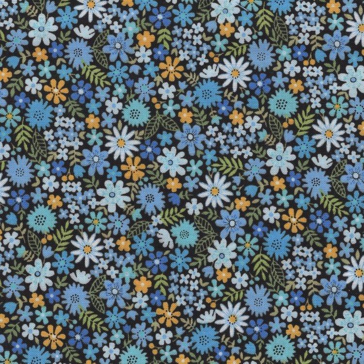 Andover/Makeower Bloom blauw bloemetje