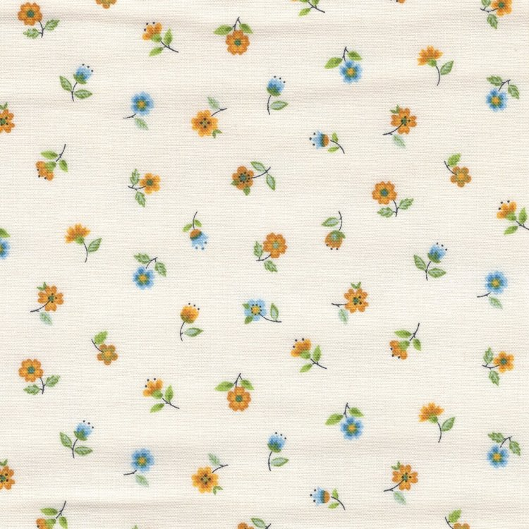 Andover/Makeower Bloom wit geel bloemetje