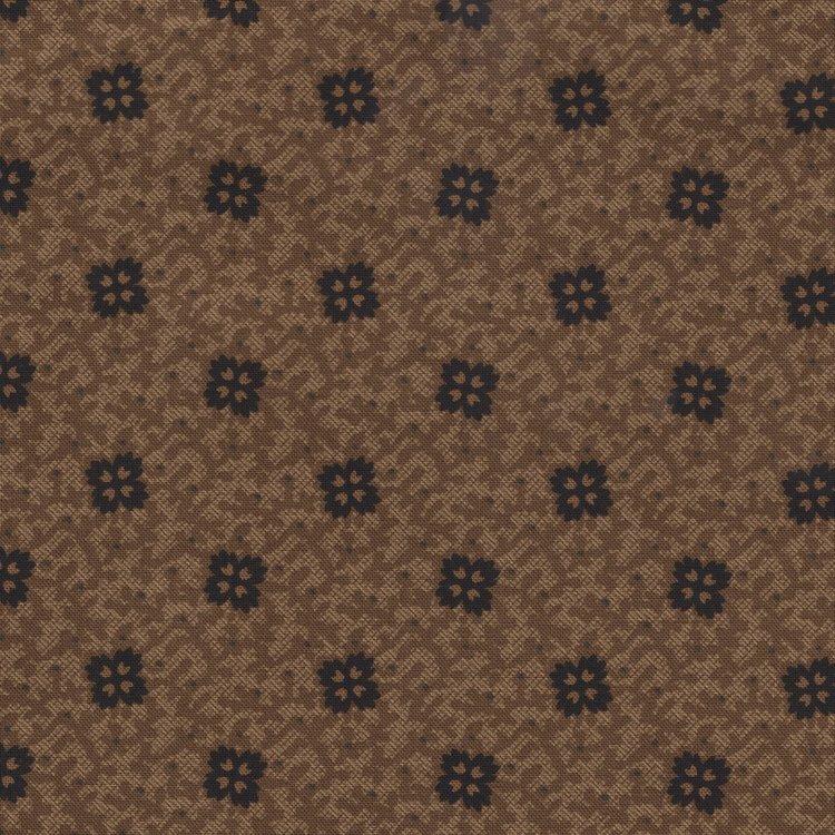 Marcus Fabrics Prairie Basics bruin werkje