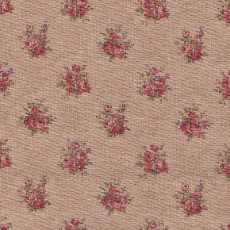 Lecien Antique Rose tan roze mini roos