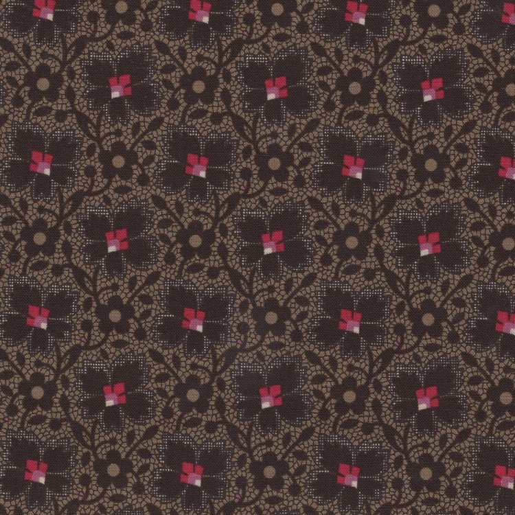 Windham Fabrics Kindred Spirits Gathering bruin tak