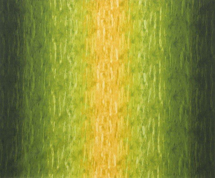 Robert Kaufman Renoir sunrise verloopkleuren groen-geel