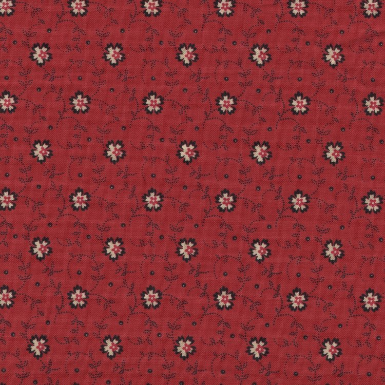 Andover/Makeower Riviera Rose rood bloemetje