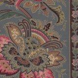 Marcus Fabrics Chatham Row blauwe rand_
