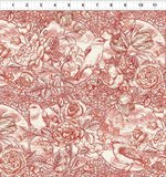 In The Beginning Romance toile rood_