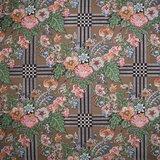Dutch Heritage Trellis bruin grote ruit_