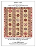 Windham Fabrics Edith bruin met ecru roos_