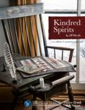 Windham Fabrics Kindred Spirits groen met bruin werkje_