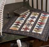 Windham Fabrics Kindred Spirits groen met ecru werkje_