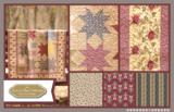 Penny Rose Fabrics The Era Of Jane Figuur groen_