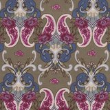 Penny Rose Fabrics The Era Of Jane Figuur groen_