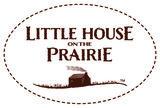 Andover Little House On The Prairie zwart met roze mini bloem_