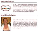 EQP Past & Present groen met ecru trelliswerk_
